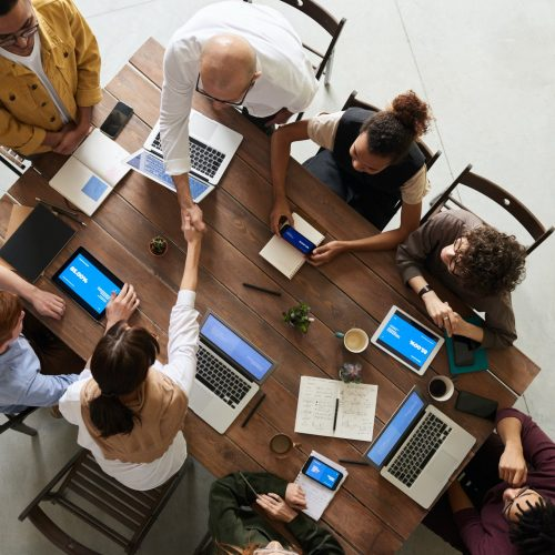 Graphic, Web Designers, Agency Meeting Discuss Goals