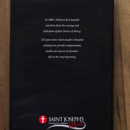 Hardback Book Jacket Design, Book Cover Designer of Atlanta's Saint Joseph's Anniversary Book