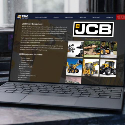 JCB Commercial Dealer Sales Government Contracts GSA AFNAF