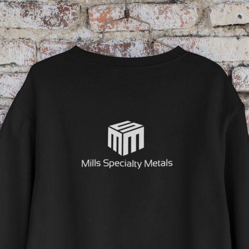 Logo Design Atlanta Company Metals Manufacturer (Black Shirt)
