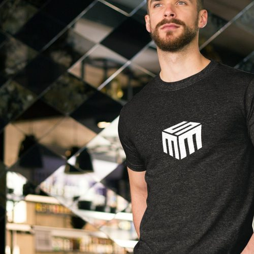 Logo Design: Icon/Mark on Black Shirt (Atlanta Business)