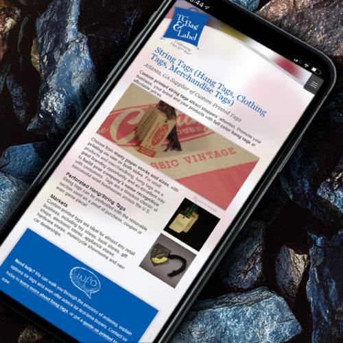 Responsive Mobile Website Design Atlanta Wordpress Theme for Label Company