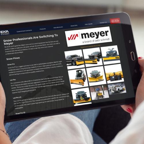 Responsive Web Design Atlanta Business Industrial Product Sales 2021