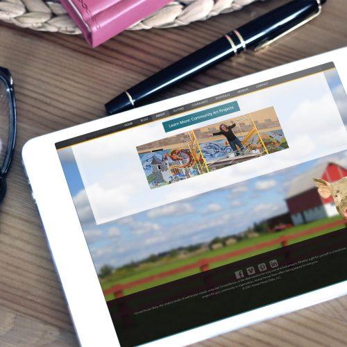 Web Designer Artist Portfolio Showcase/Atlanta Freelance Agency