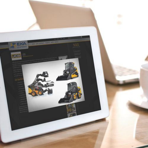 Web Design/Custom Wordpress Theme Responsive Atlanta, EKA Government Sales